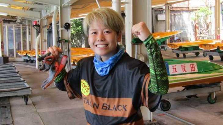 来田衣織選手のTOP画像です。