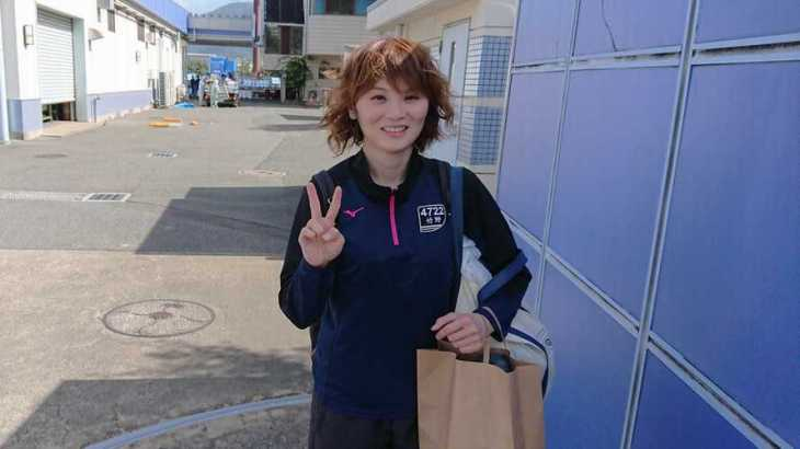 竹野未華選手のTOP画像です。