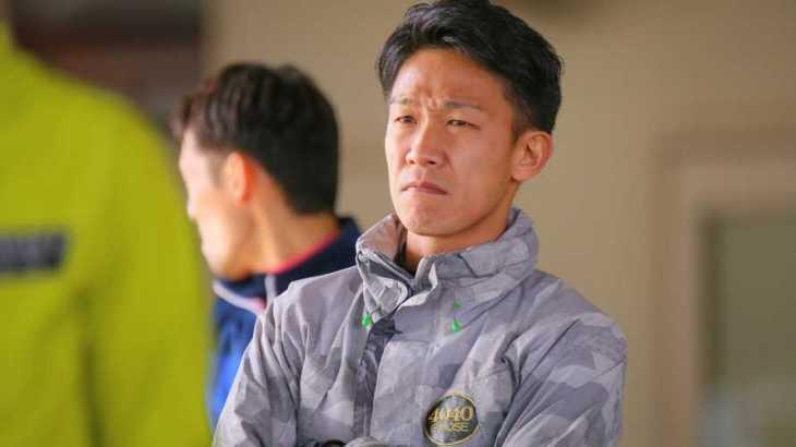廣瀬将亨選手のTOP画像です。