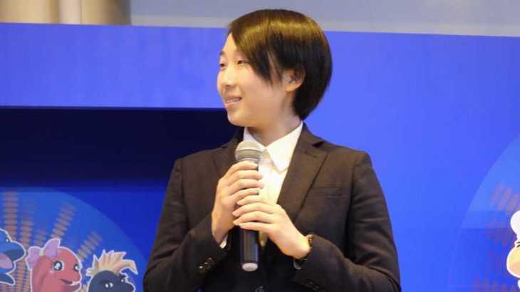 東本千佳選手のTOP画像です。