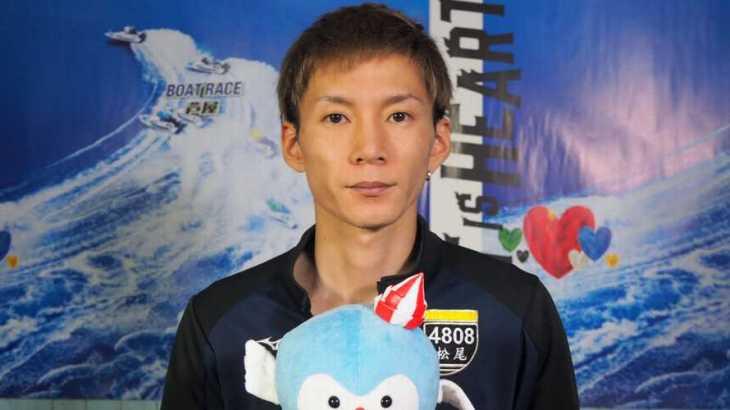 松尾拓選手のTOP画像です。