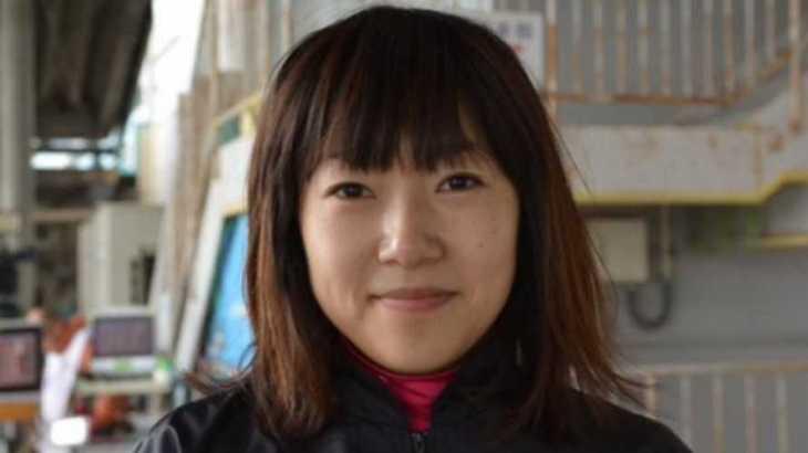 八十岡恵美選手のTOP画像です。
