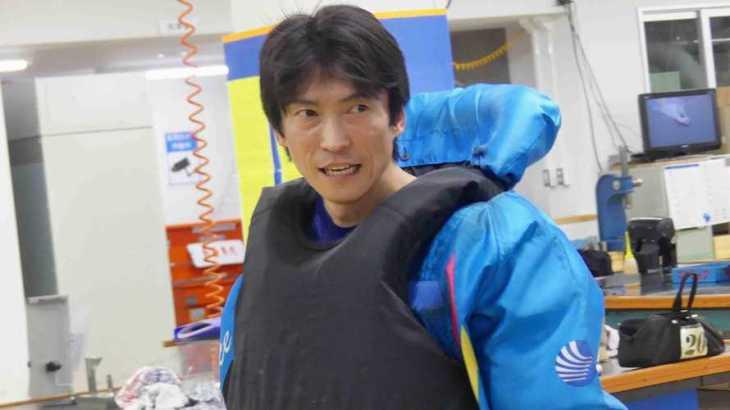 一瀬明選手のTOP画像です。