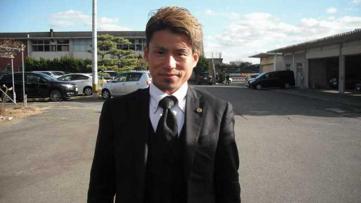 原田篤志選手のTOP画像です。