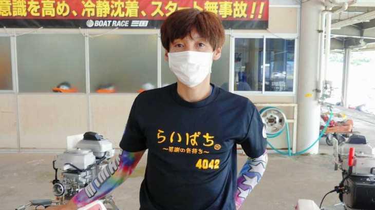 【競艇選手名鑑】大阪支部の85期生、丸岡正典という男性ボートレーサー
