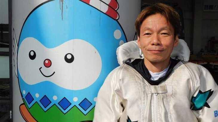 吉川昭男選手のTOP画像です。