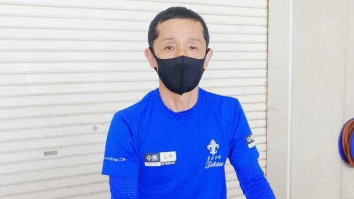 山一鉄也選手のTOP画像です。