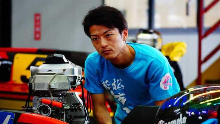 永井源選手のTOP画像です。