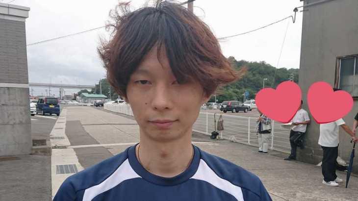 中田元泰選手のTOP画像です。