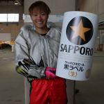 中村泰平選手のTOP画像です。