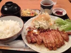 進々堂生姜焼き定食