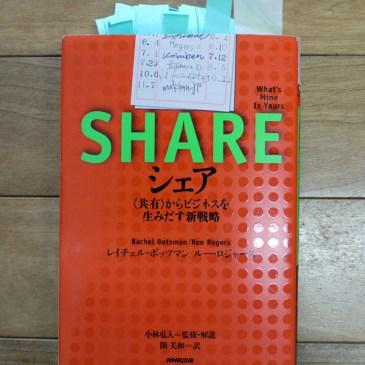 本(SHARE)と映画(THE SOCIAL NETWORK)