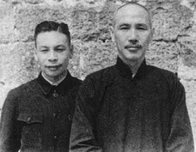 蒋介石と蒋経国
