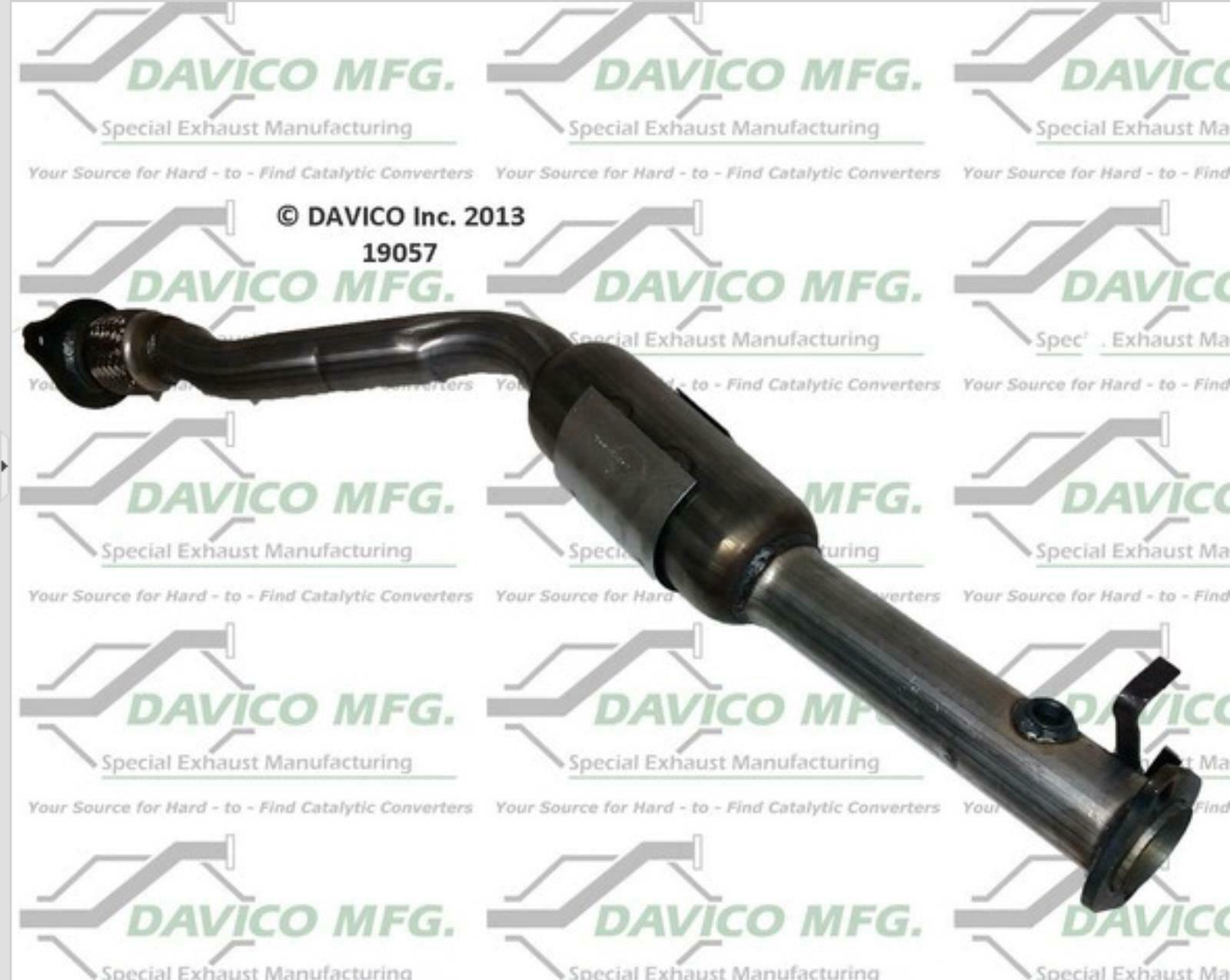 Muffler Exhaust System Amp Catalytic Converter Fits