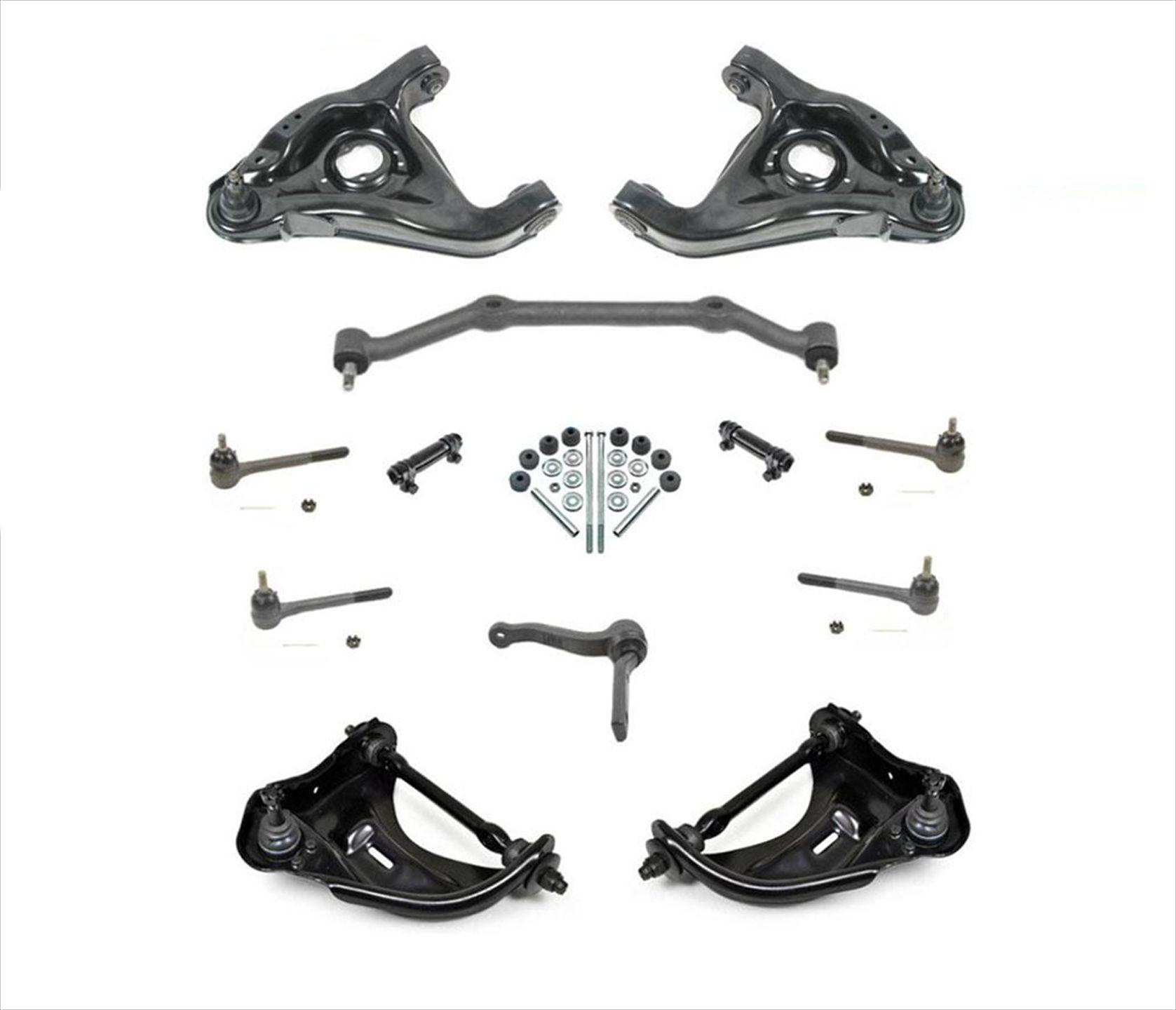 Suspension Amp Steering Kit 14pcs For 96 05 Chevrolet S10
