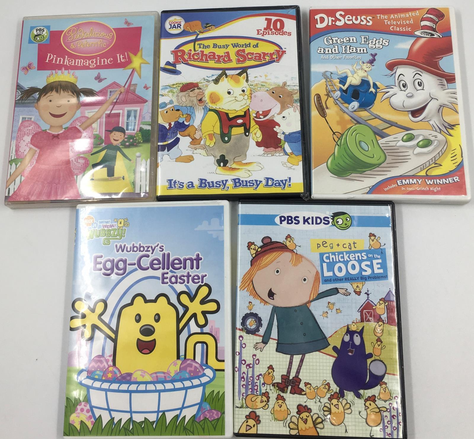 Pbs Nick Jr Kids Preschool Tv Dvd Lot Dr Seuss