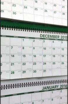 three calendars