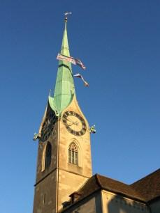 Fraumunster Church - Zurich, Switzerland