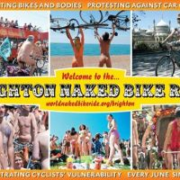 World Naked Bike Ride Cambridge !!!!
