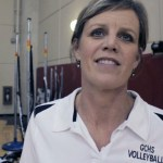 Coach Lynne Givens – GCHS Vball 2013 – Postgame vs Nelson Co – Video