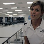Coach Lynne Givens – GCHS Vball 2013 – Postgame vs Caverna – Video