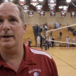 Coach Rodney Scifres, Sr – NCHS Vball 2013 – Postgame vs Green Co – Video