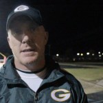 Coach Chris Engstrand – GCHS Football 2013 – Postgame vs Taylor County – Video