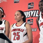 Louisville Cardinals Womens Basketball 2013-14 Player Press Conference vs Pikeville- Video