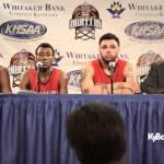 Owensboro  HS Basketball 2015 Sweet 16 Presser vs Collins