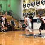 Kass Disney Buzzer Beater For Etown vs Trinity