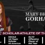 Bellarmine's Gorham named GLVC Scholar-Athlete of the Year for women's soccer
