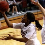 Womens basketball win over Miners