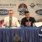 Taylor County 2016 Sweet 16 Press Conference vs Mason County
