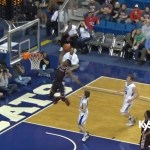 Quentin Goodin DUNK for Taylor County at 2016 Sweet 16