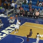 Laron Hargrove DUNK for Doss at 2016 Sweet 16