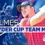 JB Holmes Named to Ryder Cup Golf Team