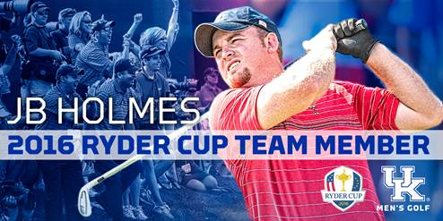 Makes Ryder cup golf team