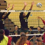 Kentucky State Volleyball's Butler, Rogers & Kyle get SIAC Weekly Honors