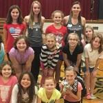 Bellarmine dance teaches its trade at La Grange Elementary