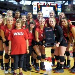 No. 21 WKU Volleyball Sweeps Middle Tennessee for 17th-Straight Win
