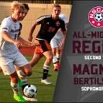 Bellarmine Men's Soccer Bertilsson receives All-Region notice from NSCAA