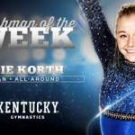 UK Gymnastics' Mollie Korth Wins Second SEC Freshman of the Week