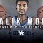 UK MBB's Malik Monk Named USBWA District IV Player of the Year