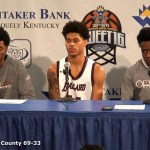 Ballard HS Presser vs Taylor County in 2017 Whitaker Bank KHSAA Sweet 16