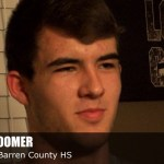 Trevent Hayes Interviews 2018 G/F Jared Coomer of Barren County HS