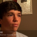 Trevent Hayes Interviews Gavin Withrow (2021 GUARD) of  Barren County HS