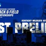 UK Track & Field NCAA East Preliminary Championships Fields Announced
