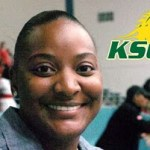Coach Katrina English on Kentucky State Volleyball 2017