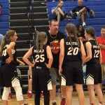 DSP Heat vs Thunder (GIRLS)[GAME] – AAU Basketball 2017 DSP War On the Floor