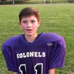 Caleb Edwards on Caverna MS Football Win over Barren County